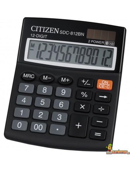 Calculadora De Sobremesa SDC-812BN Citizen