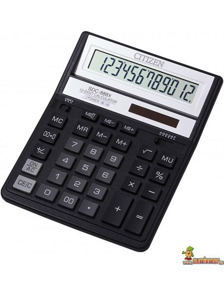 Calculadora De Sobremesa SDC-888XBK Citizen