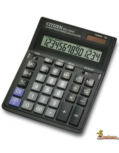 Calculadora De Sobremesa SDC-554S Citizen