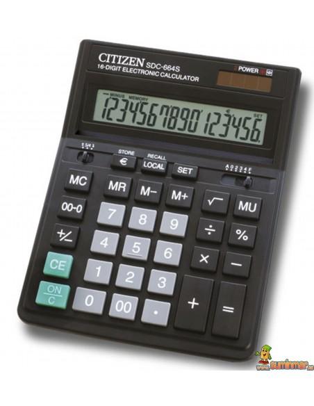 Calculadora De Sobremesa SDC-664S Citizen