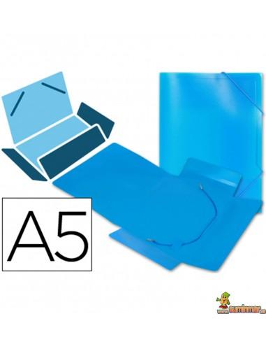 Carpeta Lomo Flexible Con Solapas DIN A5 Liderpapel