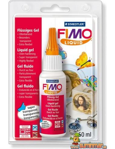 Gel líquido decorativo Staedtler Fimo 50 ml 8050-00 BK