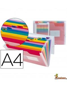 Carpeta Clasificadora tipo acordeón DIN A4