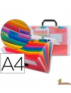 Carpeta Clasificadora tipo maletín DIN A4 26 departamentos