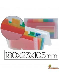 Carpeta Clasificadora para tarjetas de visita 180x105 mm