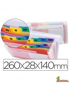 Carpeta Clasificadora para letras y cheques 260x140 mm