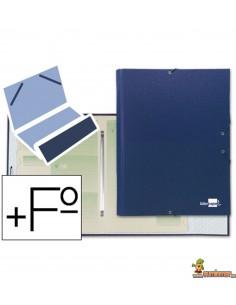 Carpeta Clasificadora tamaño Folio 12 compartimentos