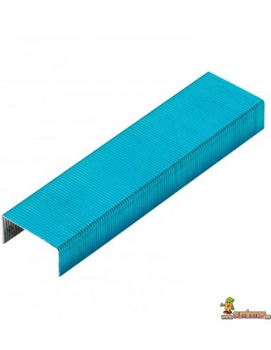 Grapas de Colores Rexel Joy Caja 2000 uds azul