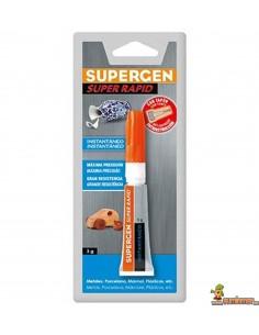 Pegamento Instantáneo Supergen 3 g Super Rápido