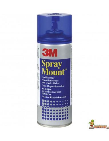 Pegamento En Spray Mount 3M
