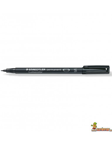Rotulador Lumocolor Permanente S 0,4 mm 313-9 Negro