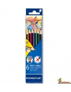 Staedtler Noris Colour Lápices de Colores WOPEX 6 ud