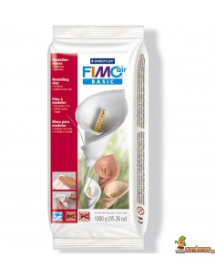FIMO Pasta Air Basic 1000 g Blanco