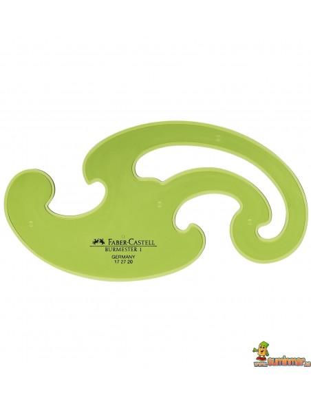Curvas Faber Castell 172720 3 plantillas