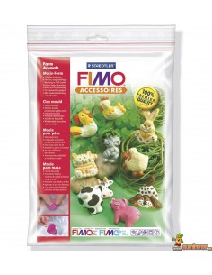 FIMO Moldes Farm Animals