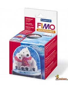 FIMO Bola De Nieve Redonda