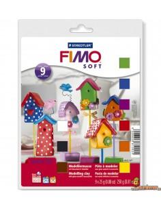 Set de casas para modelar Fimo Soft