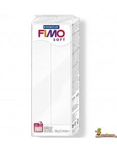 FIMO Soft Pastilla Grande Blanco