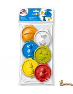 Moldes de extraterrestres para plastilina FIMO kids work&play