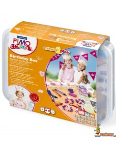Set de manualidades FIMO create&play Birthday Box princess