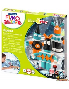 Set de manualidades FIMO form&play nivel 2 Robots