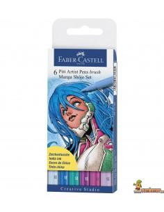 Rotuladores PITT Faber-Castell. Set Manga Shojo