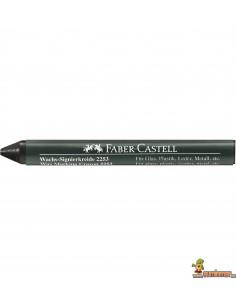 Cera permanente Faber Castell para marcar negra