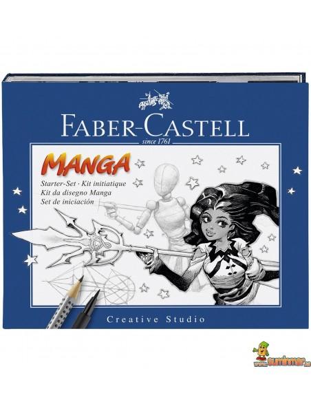 Set iniciación al manga Faber Castell