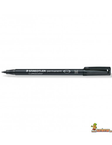 Rotulador Lumocolor Permanente M 1 mm 317-9 Negro