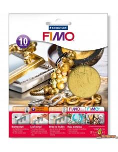 FIMO Hoja De Metal Oro