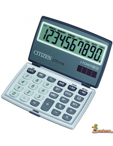 Calculadora De Bolsillo CTC-110 BK Citizen