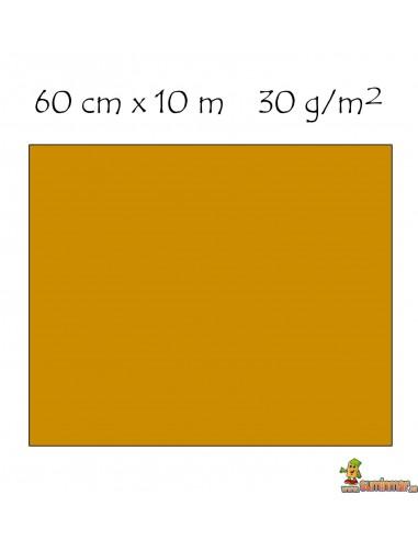 Rollo De Papel Celofán 60 cm x 10 m. 30 g/m². Liderpapel AMARILLO
