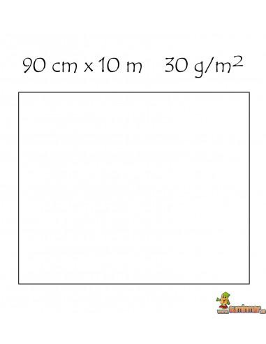 Rollo de papel celofán transparente 90 cm x 10 m