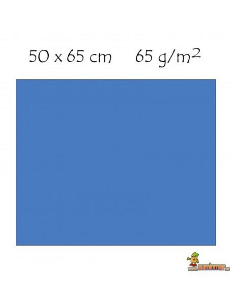 Rollo de papel charol con 25 pliegos precortados 50 x 65 cm