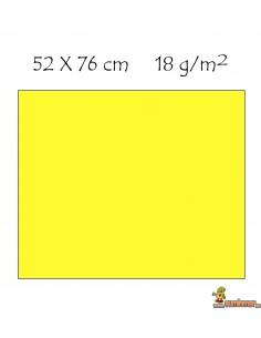Papel de seda pliego de 52 x 76 cm