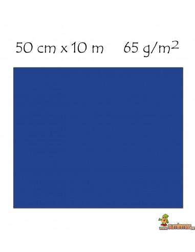 Rollo Papel Metalizado 65 g/m² 50 cm x 10 m. Sadipal AZUL