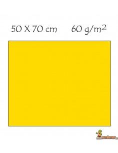 Goma EVA Fluorescente 50 x 70 cm Amarilla neón