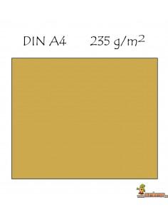 Cartulina metalizada DIN A4 235g/m2 Oro