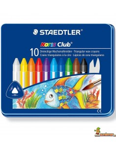 Lápices de cera triangulares Staedtler Noris Club