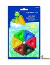 Ceras triángulo para niños Staedtler Noris Club 6 colores