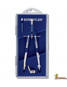 Compás articulado Staedtler Mars Quickbow 552 01 con adaptador y bigotera