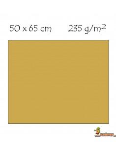 Cartulina metalizada 50 x 65cm 235g/m2 Oro