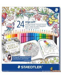 Staedtler Ergosoft Edición Johanna Basford 24 colores