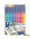 Staedtler Triplus Color edición Johanna Basford 26 rotuladores