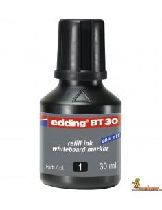 Edding BT30 Tinta para rellenar rotuladores 30 ml negro