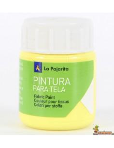 Pintura para Tela La Pajarita 25 ml Amarillo claro