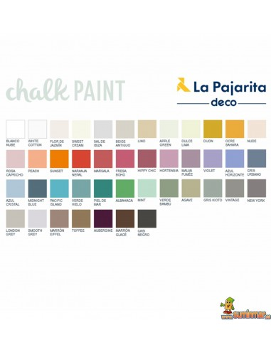 Chalk Paint La Pajarita 175 ml Pintura efecto tiza
