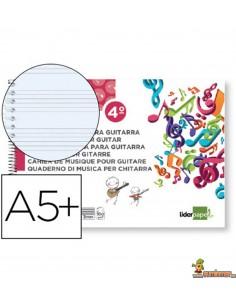 Bloc de Música 6 Hexagramas 2.5 mm