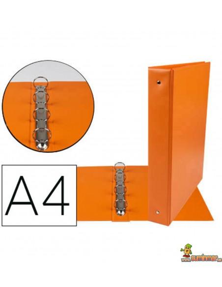 Carpeta 4 anillas de 40 mm DINA4