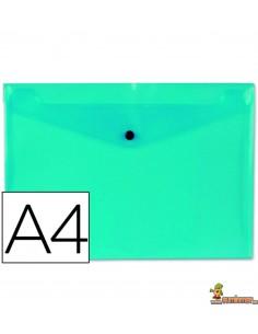 Carpeta Sobre A4 180µ azul claro